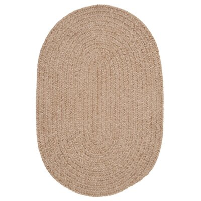 Spring Meadow Sand Bar Area Rug Rug Size: Oval 7 x 9