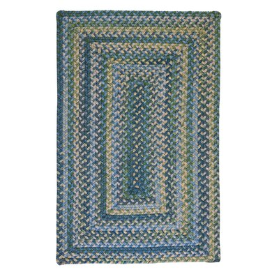Ridgevale Whipple Green Area Rug Rug Size: Rectangle 7 x 9