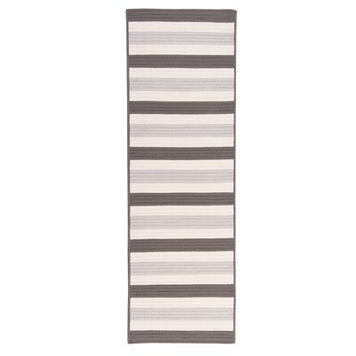 Georg Silver Indoor/Outdoor Area Rug Rug Size: Runner 2 x 8
