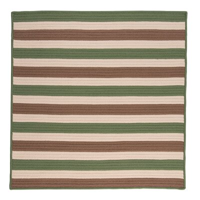 Georg Moss-stone Indoor/Outdoor Area Rug Rug Size: Square 10