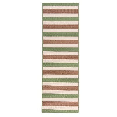 Georg Moss-stone Indoor/Outdoor Area Rug Rug Size: Runner 2 x 10