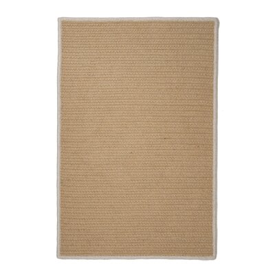 Sunbrella Renaissance Wheat Indoor/Outdoor Area Rug Rug Size: 10 x 13