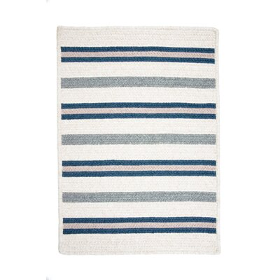 Allure Polo Blue Outdoor Area Rug Rug Size: 8 x 11