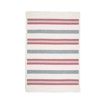 Allure Mauveberry Red Area Rug Rug Size: Square 12