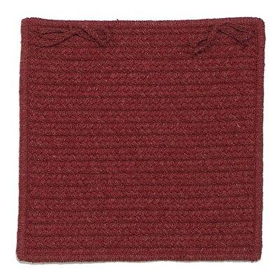 Courtyard Dining Chair Cushion (Set of 4) Fabric: Sangria