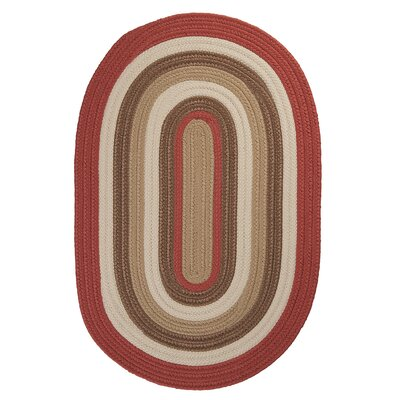 Brooklyn Terracotta Indoor/Outdoor Area Rug Rug Size: Round 4