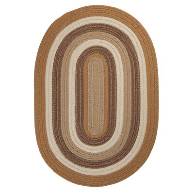 Brooklyn Amber Way Braided Indoor/Outdoor Area Rug