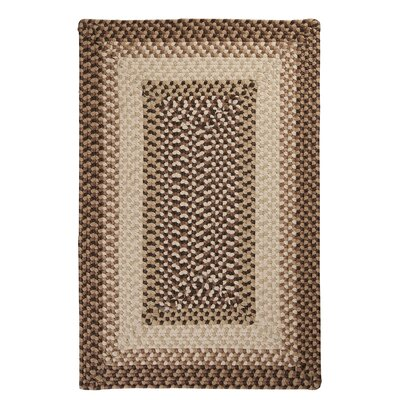 Tiburon Sandstorm Braided Indoor/Outdoor Area Rug Rug Size: 8 x 11