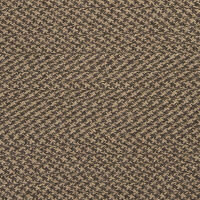 Natural Wool Houndstooth Sample Swatch Color: Caramel