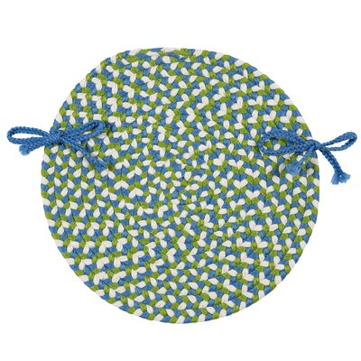 Carousel Chair Pad Color: Lime Spin