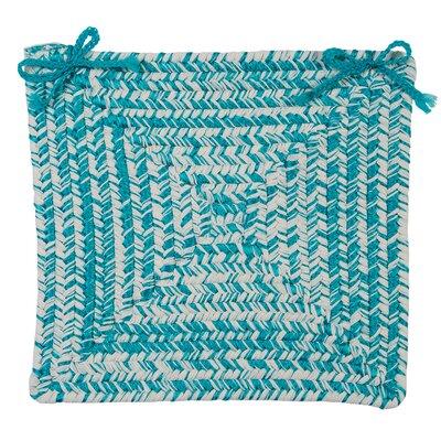 Catalina Chair Pad (Set of 4) Color: Aquatic
