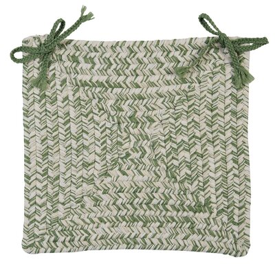 Catalina Chair Pad (Set of 4) Color: Greenery
