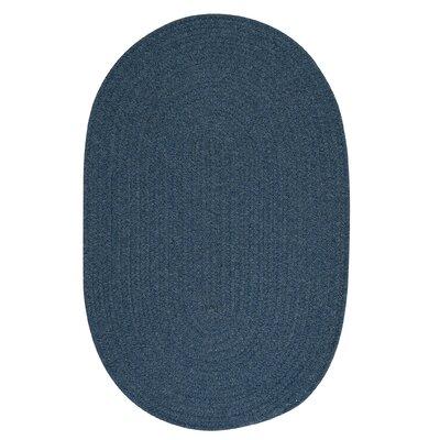 Bristol Federal Blue Area Rug Rug Size: Oval 10' x 13'