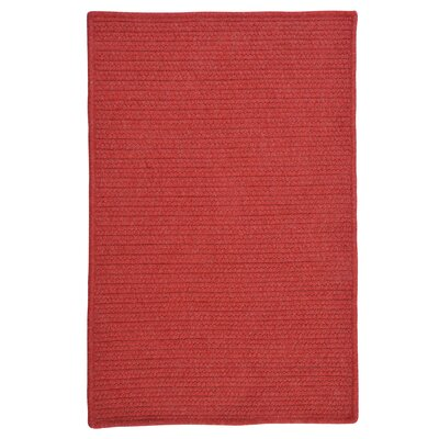 Courtyard Red Rug Rug Size: 2 x 4