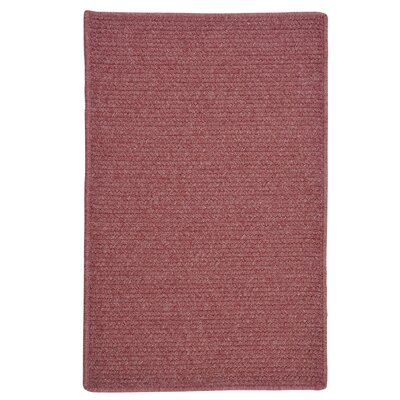Courtyard Mauve Rug Rug Size: Rectangle 7 x 9