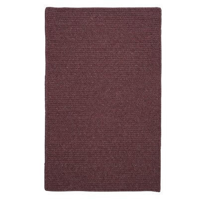 Courtyard Orchid Rug Rug Size: Rectangle 7 x 9, Fringe: Included