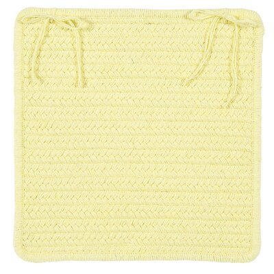 Courtyard Dining Chair Cushion Color: Yellow