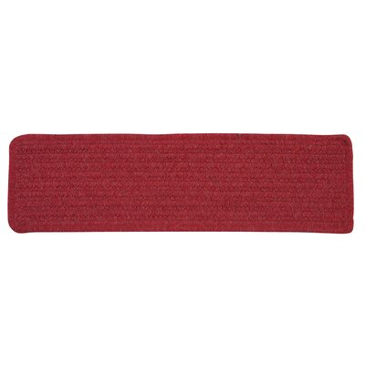 Courtyard Red Stair Tread Quantity: Set of 13