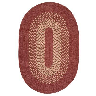 Jackson Rosewood Rug Rug Size: Oval 12 x 15