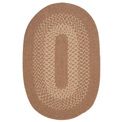 Jackson Taupe Rug Rug Size: Oval 4 x 6