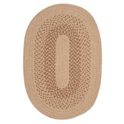 Jackson Oatmeal Rug Rug Size: Oval 3' x 5'