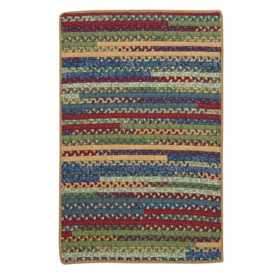Market Mix Rectangle Sea Area Rug Rug Size: 7' x 9'