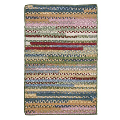 Market Mix Rectangle Keepsake Area Rug Rug Size: 12 x 15