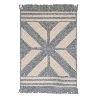 Sedona Gray Area Rug Rug Size: Rectangle 4 x 6
