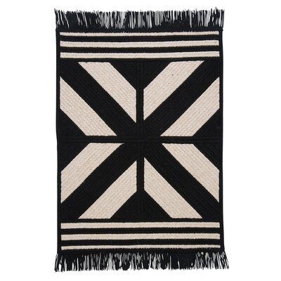 Sedona Black Area Rug Rug Size: Rectangle 4' x 6'