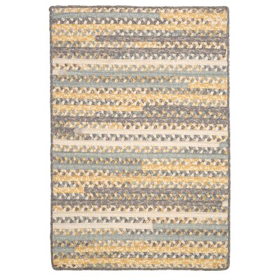 Print Party Rects Yellow Area Rug Rug Size: 3' x 5'