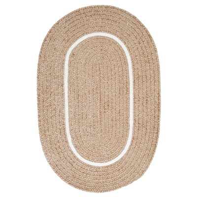 Silhouette Neutral Indoor/Outdoor Area Rug Rug Size: Oval 4 x 6