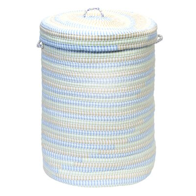 Ticking Laundry Hamper Color: Starlight