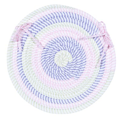 Colonial Mills, Inc. Ticking Stripe Oval Chair Pad (Set of 4) - Color: Dreamland at Sears.com