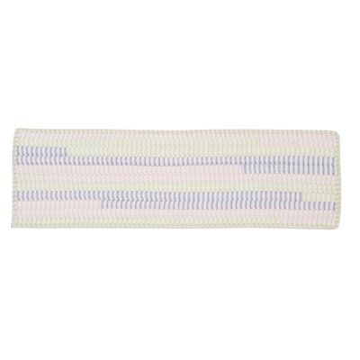 Ticking Stripe Rect Dreamland Stair Tread Quantity: 1