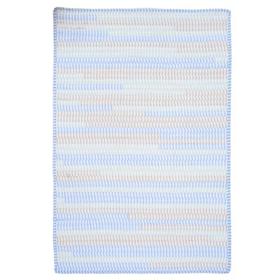 Colonial Mills, Inc. Ticking Stripe Oval Starlight Rug - Rug Size: 2' x 3' at Sears.com