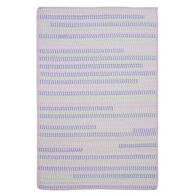 Ticking Stripe Rect Dreamland Area Rug Rug Size: Square 4