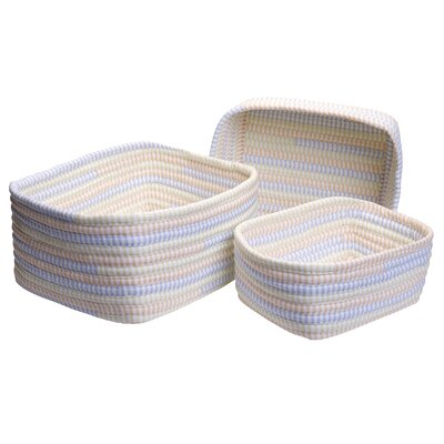 Colonial Mills, Inc. Ticking Stripe Oval Nesting Set - Color: Starlight at Sears.com
