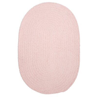 Spring Meadow Blush Pink Area Rug Rug Size: Oval 12' x 15'