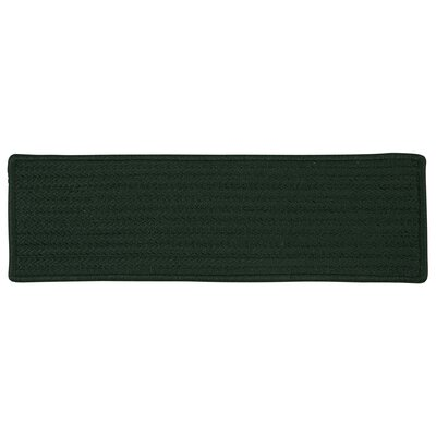 Simply Home Solid Dark Green Stair Tread Quantity: 1