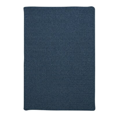 Westminster Federal Blue Area Rug Fringe: Included, Rug Size: Square 4