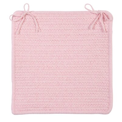 Westminster Chair Pad Color: Blush Pink