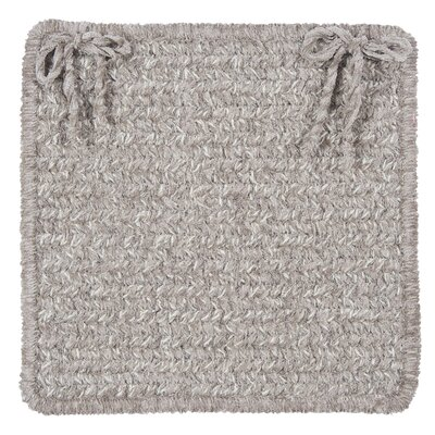 Texture Woven Dining Chair Cushion Color: Soft Stone