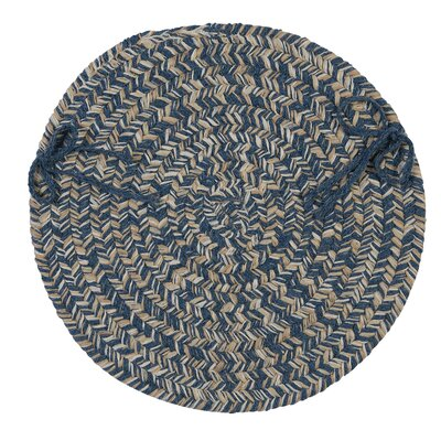 Tremont Chair Pad Color: Denim
