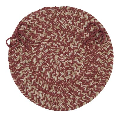 Tremont Chair Pad Color: Rosewood