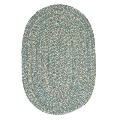 Tremont Teal Area Rug Rug Size: Oval Runner 2 x 12