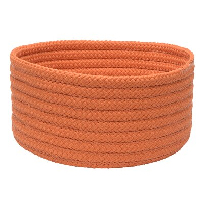 "Pet Storage Basics Decorative Bowl Size: 5"" H x 10"" W x 10"" D, Color: Orange H073A010X005"