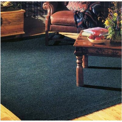 Courtyard Cypress Green Rug Rug Size: Square 10, Fringe: Included