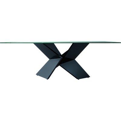 Sapphire Dining Table Finish: Black