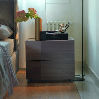 Elysee 2 Drawers Nightstand
