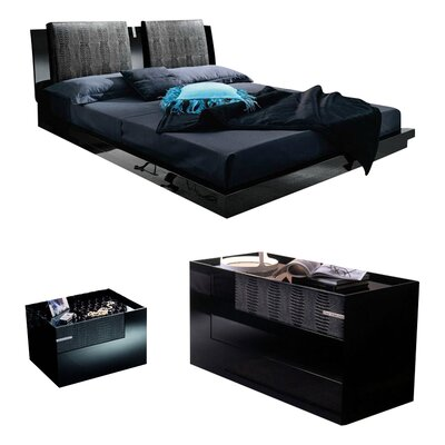 Diamond Platform Configurable Bedroom Set